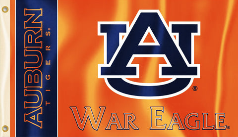 Auburn Tigers 3' x 5' Flag (War Eagle) NCAA