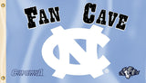 North Carolina Tar Heels 3' x 5' Flag (Fan Cave) NCAA