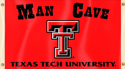 Texas Tech Red Raiders 3' x 5' Flag (Man Cave) NCAA