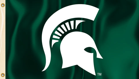 Michigan State Spartans 3' x 5' Flag (Spartan Logo Only) NCAA