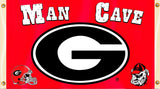 Georgia Bulldogs 3' x 5' Flag (Man Cave) NCAA