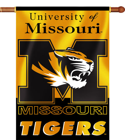 "Missouri Tigers 28"" x 40"" Two Sided House Banner NCAA"