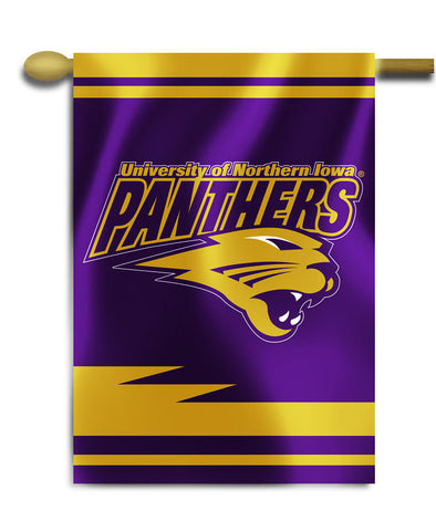 "Northern Iowa Panthers 28"" x 40"" Two Sided House Banner NCAA"