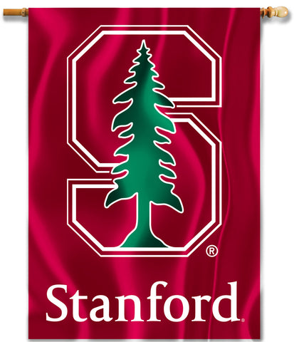 "Stanford Cardinal 28"" x 40"" Two Sided House Banner NCAA"