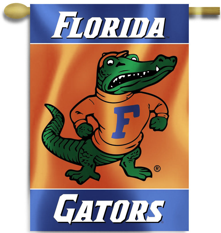 "Florida Gators 28"" x 40"" Two Sided House Banner (Albert) NCAA"