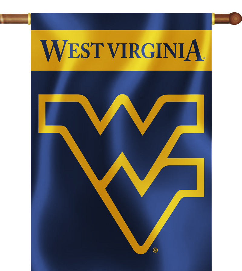 "West Virginia Mountaineers 28"" x 40"" Two-Sided House Banner NCAA"