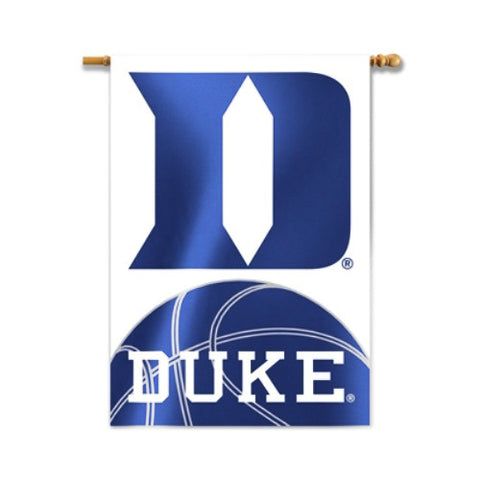 "Duke Blue Devils 28"" x 40"" Two-Sided House Banner (Basketball) NCAA"