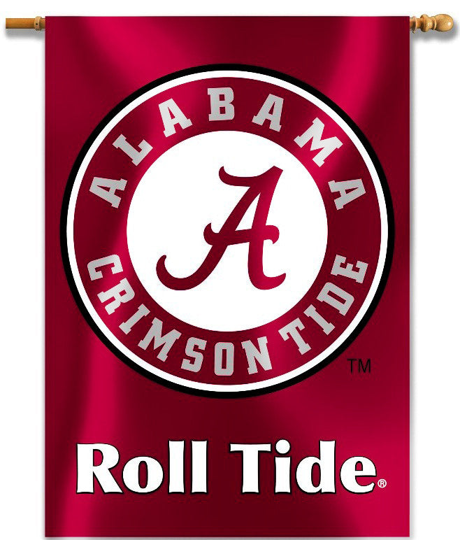 "Alabama Crimson Tide 28"" x 40"" Two Sided House Banner (Roll Tide) NCAA"