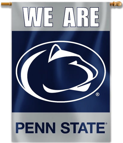 "Penn State Nittany Lions 28"" x 40"" Two Sided House Banner (We Are) NCAA"