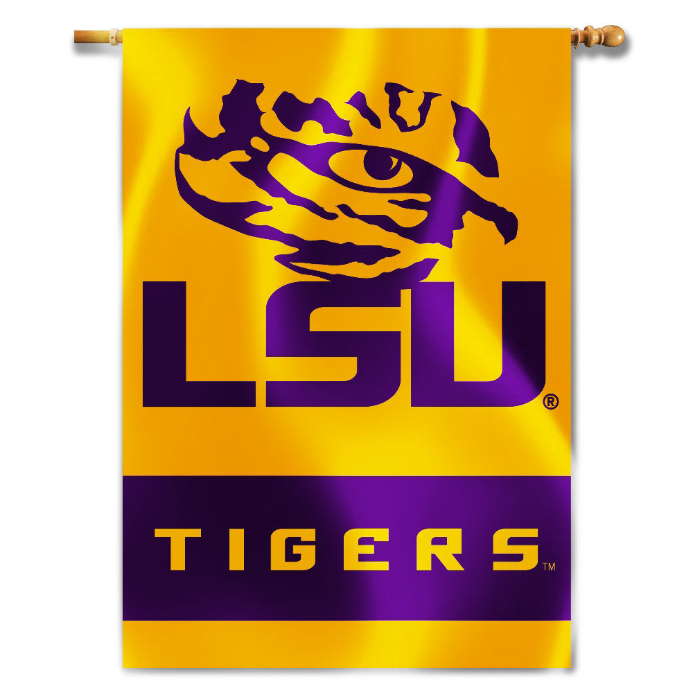 "LSU Tigers 28"" x 40"" Two-Sided House Banner (NCAA)"