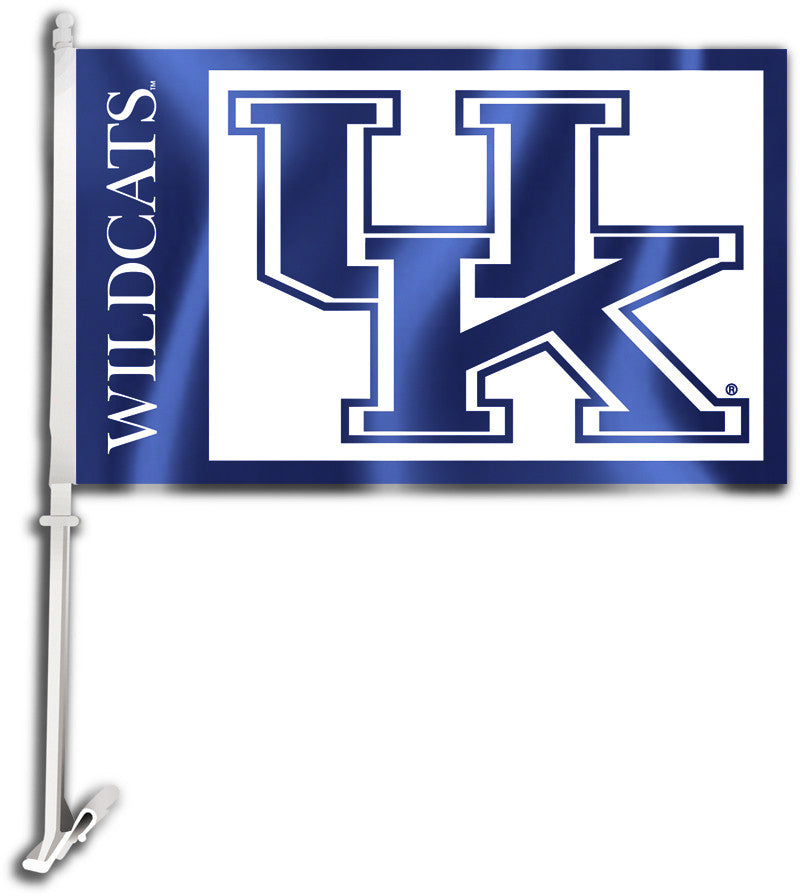 "Kentucky Wildcats 11"" x 18"" Two Sided Car Flag NCAA"