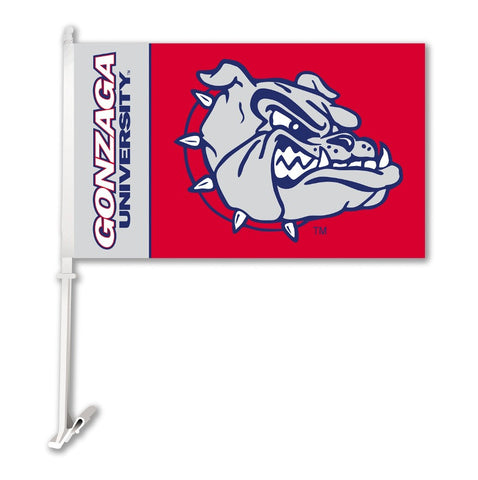 "Gonzaga Bulldogs 11"" x 18"" Two Sided Car Flag (NCAA)"