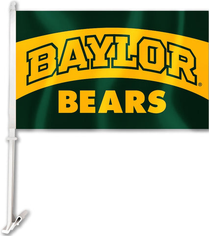 "Baylor Bears 11"" x 18"" Two-Sided Car Flag NCAA"