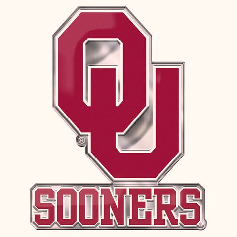 Oklahoma Sooners Auto or Hard Surface Emblem Decal NCAA