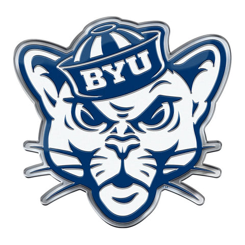 BYU Cougars Auto or Hard Surface Emblem Decal NCAA