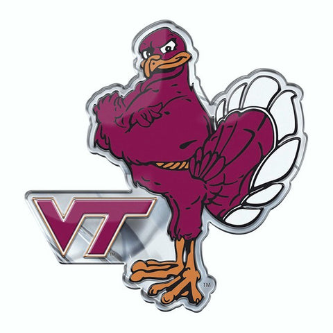 Virginia Tech Hokies Auto or Hard Surface Emblem Decal NCAA