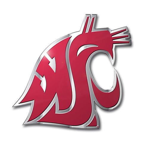 Washington State Cougars Auto or Hard Surface Emblem Decal NCAA