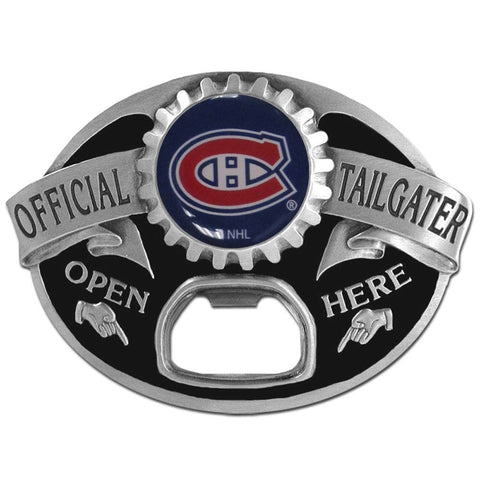 Montreal Canadiens Tailgater Belt Buckle with Bottle Opener (NHL)