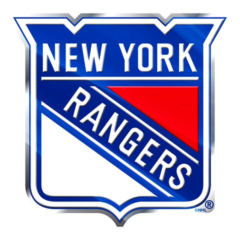 New York Rangers Auto or Hard Surface Emblem Decal NHL