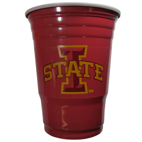 Iowa State Cyclones 18 count 18 oz Disposable Plastic Cups (NCAA)