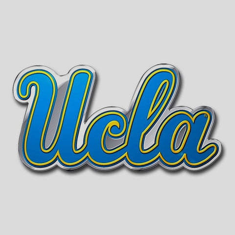 UCLA Bruins Auto or Hard Surface Emblem Decal NCAA (Script UCLA)