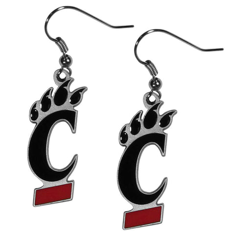 Cincinnati Bearcats Dangle Earrings (Zinc) NCAA