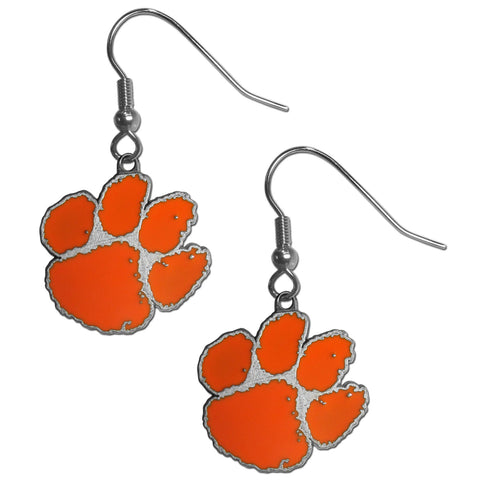 Clemson Tigers Dangle Earrings (Zinc) NCAA