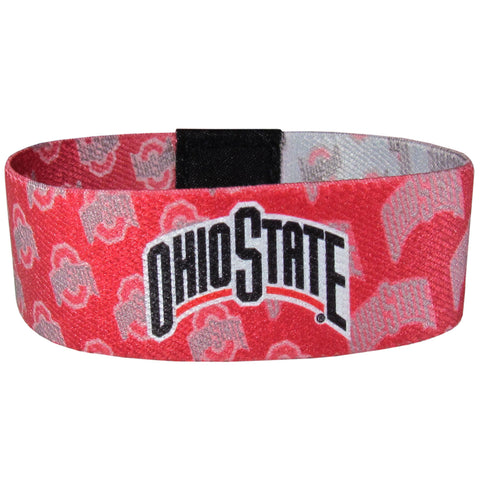 Ohio State Buckeyes Stretch Bracelet NCAA Licensed Jewelry