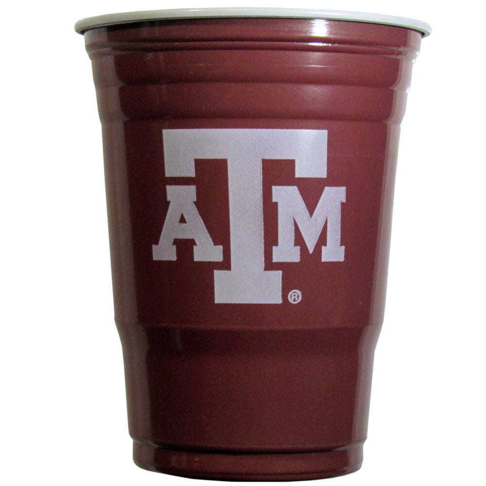 Texas A&M Aggies 18 count 18 oz Disposable Plastic Cups (NCAA)