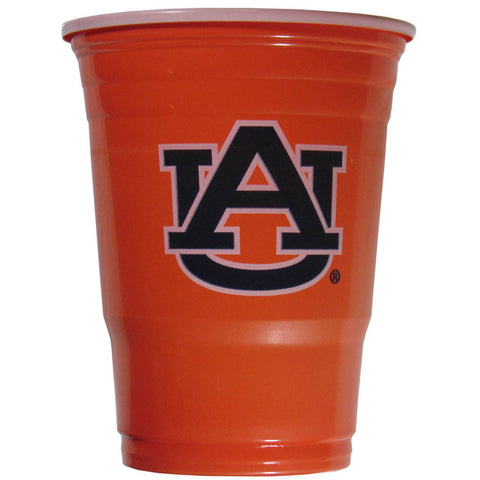 Auburn Tigers 18 count 18 oz Disposable Plastic Cups (NCAA)