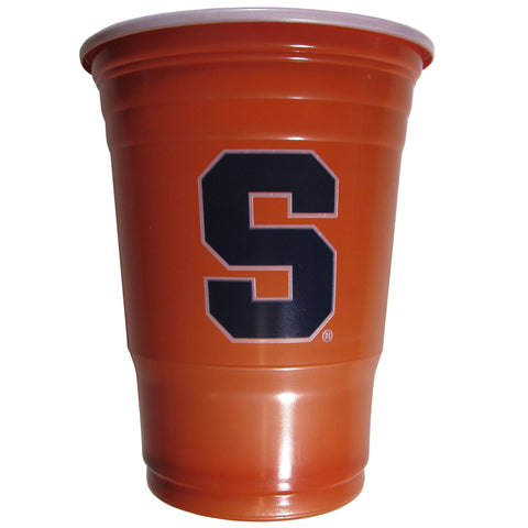 Syracuse Orange 18 count 18 oz Disposable Plastic Cups (NCAA)