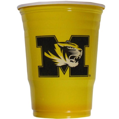 Missouri Tigers 24 count 18 oz Disposable Plastic Cups (NCAA)