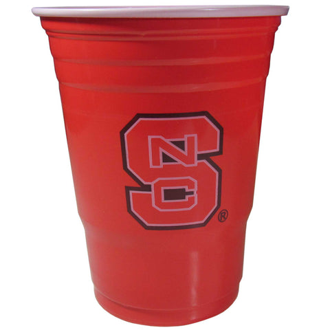 North Carolina State Wolfpack 18 count 18 oz Disposable Plastic Cups (NCAA)