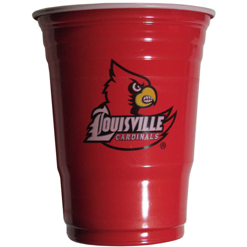 Louisville Cardinals 18 count 18 oz Disposable Plastic Cups (NCAA)