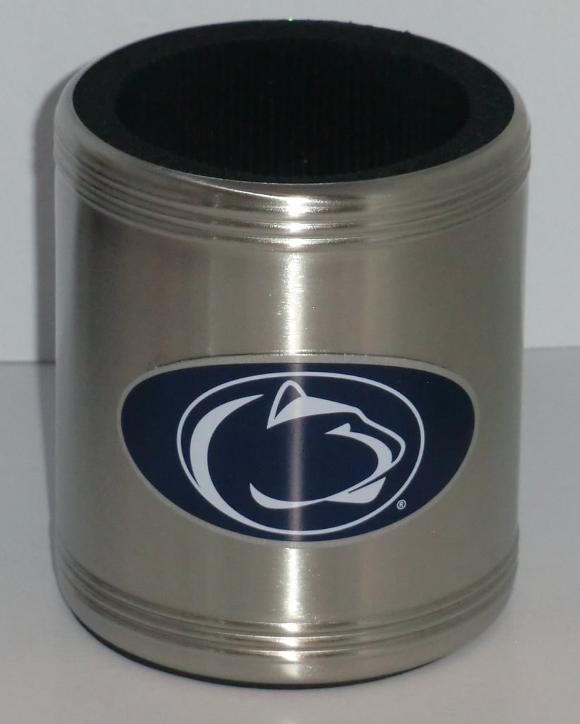 Penn State Nittany Lions Insulated Stainless Steel Can Cooler Coozie (NCAA)