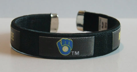 Milwaukee Brewers Fan Band Bracelet MLB Licensed Baseball