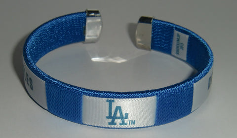 Los Angeles Dodgers Fan Band Bracelet MLB Licensed Baseball