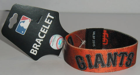 San Francisco Giants Stretch Bracelet MLB Licensed Jewelry
