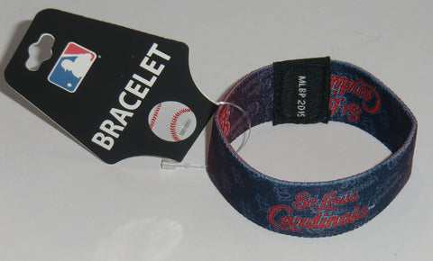 St. Louis Cardinals Stretch Bracelet MLB Licensed Jewelry