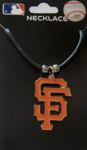 San Francisco Giants Cord Necklace (MLB Baseball) Licensed