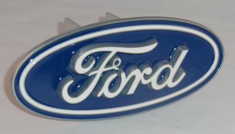 Ford 3-D Metal Hitch Cover (Ford Motor Company) Licensed