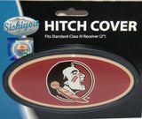 Florida State Seminoles Durable Plastic Oval Hitch Cover (NCAA)
