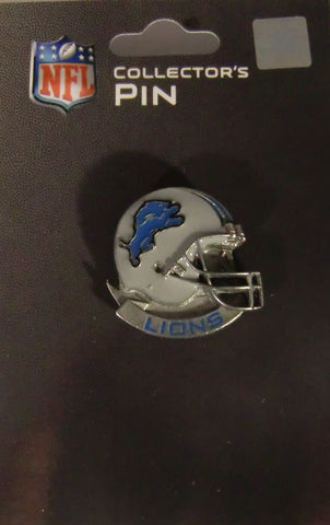 Detroit Lions Team Collector's Pin (Helmet) NFL Football Jewelry