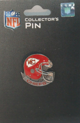 Kansas City Chiefs Team Collector's Pin (Helmet) NFL Football Jewelry