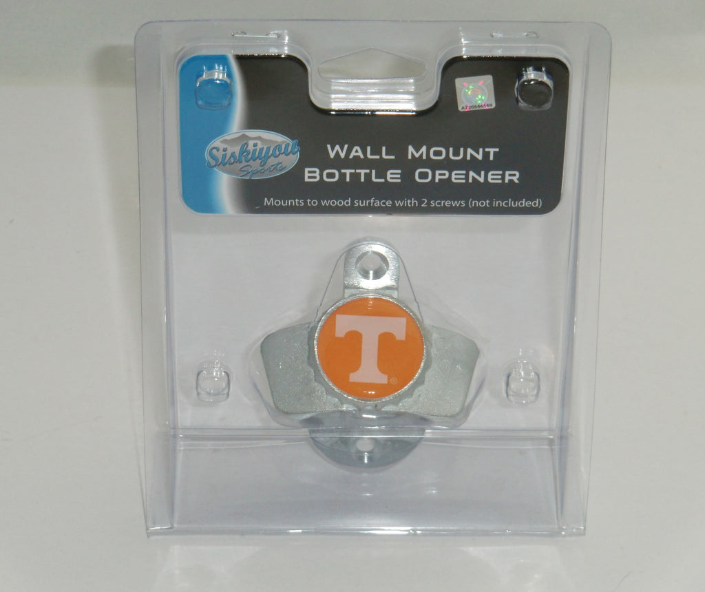 Tennessee Volunteers Wall Mount Bottle Opener NCAA Licensed