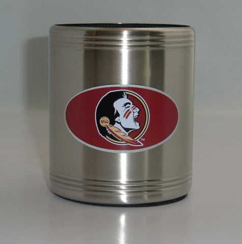 Florida State Seminoles Insulated Stainless Steel Can Cooler Coozie (NCAA)