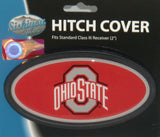 Ohio State Buckeyes Durable Plastic Hitch Cover (NCAA)