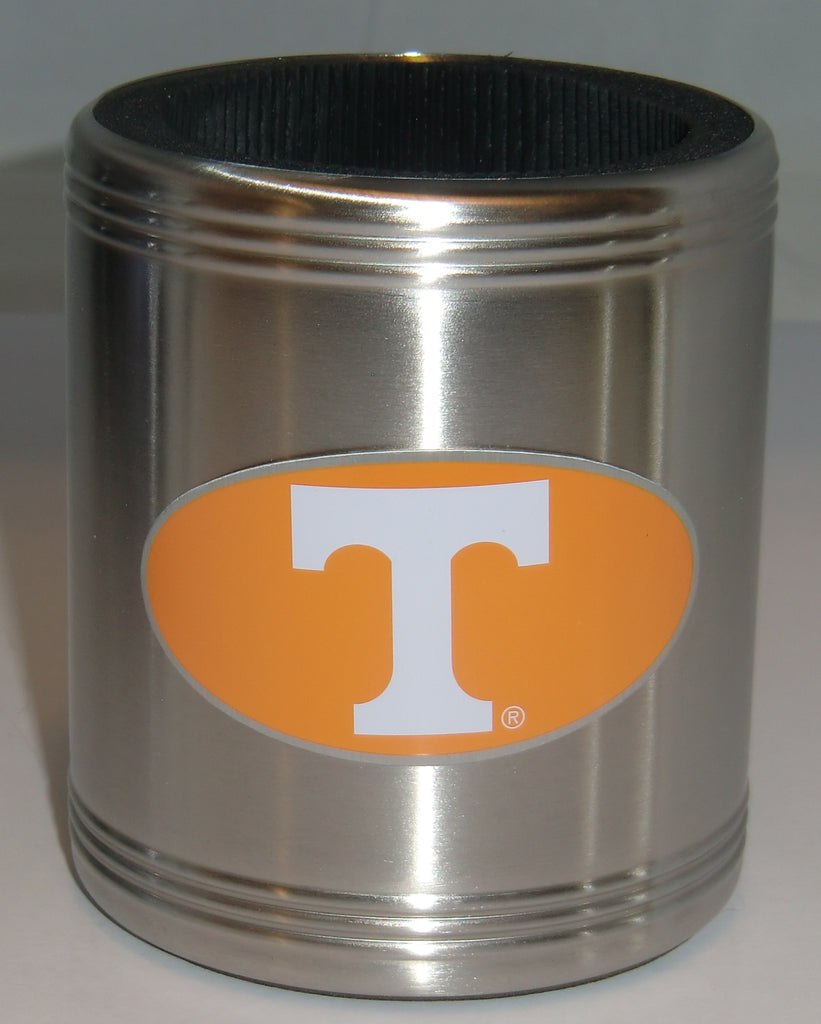 Tennessee Volunteers Insulated Stainless Steel Can Cooler Coozie (NCAA)