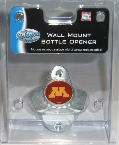 Minnesota Golden Gophers Wall Mount Bottle Opener (NCAA)