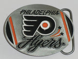 "Philadelphia Flyers Sculpted 3"" Metal Team Belt Buckle (NHL) Limited Edition"